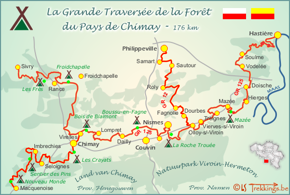 """Résultat de recherche d'images pour """"Photos Topo guide La grande Traversée de la forêt du pays de chimay"""""""